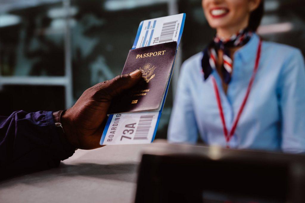 documentos para viajar com criança