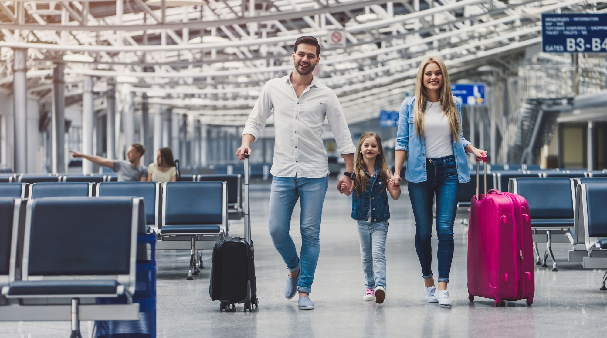 Locais para viajar com criança
