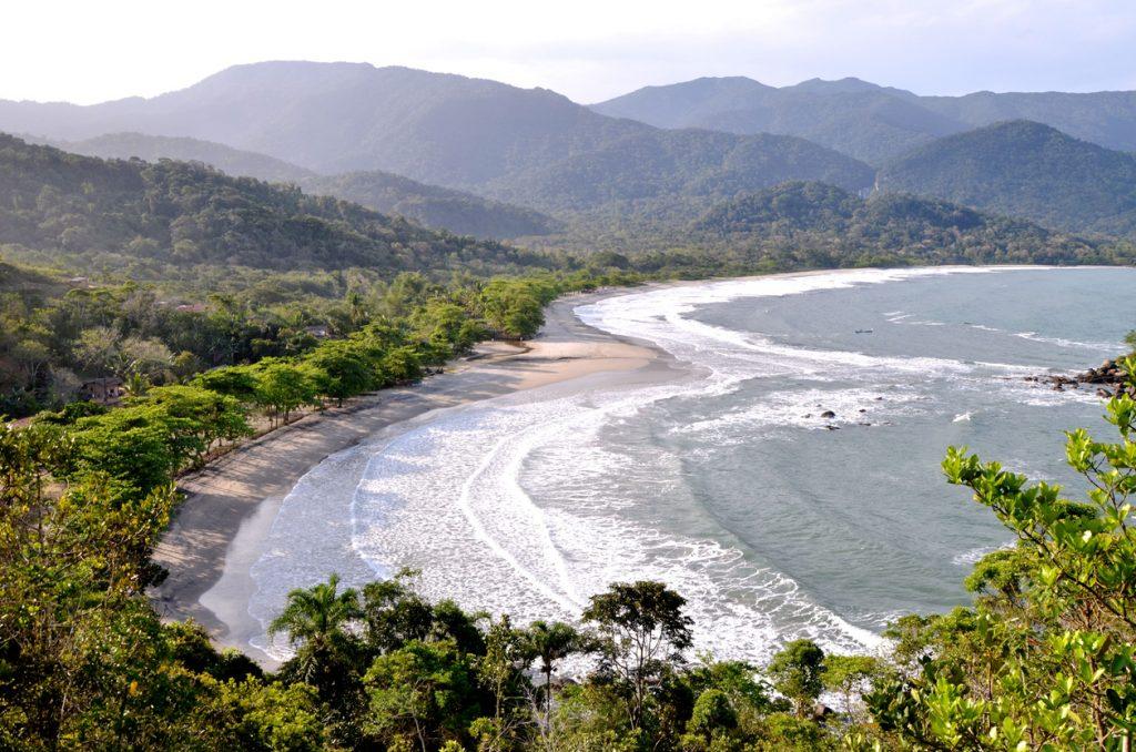 Praia de Castelhanos, Ilhabela, São Paulo, Brasil