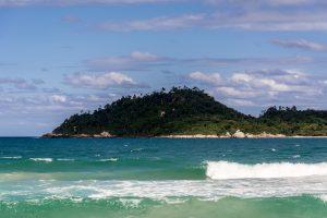 Vista para a Ilha do Campeche