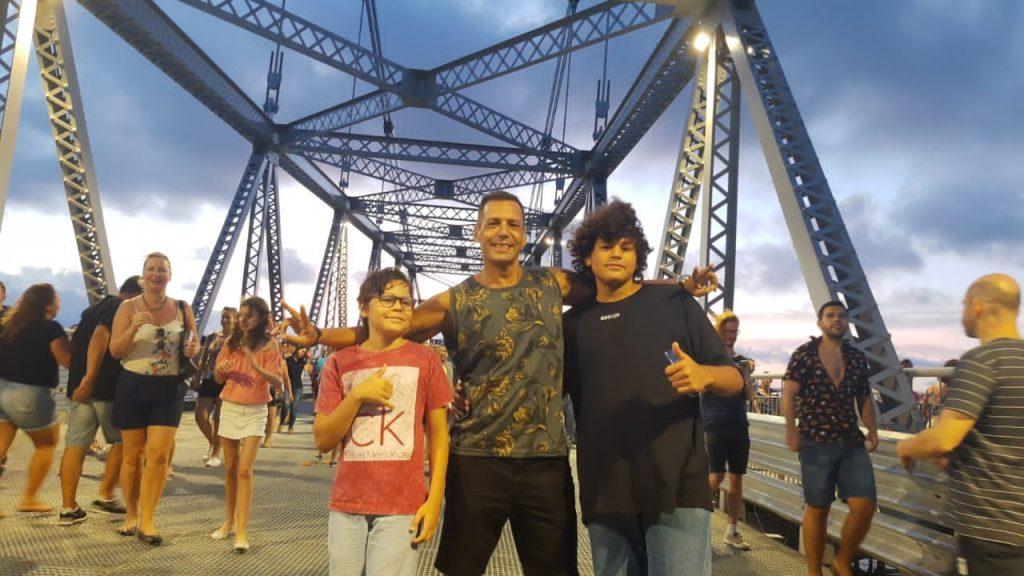 michel 1024x576 Nós fomos! Reabertura da Ponte Hercílio Luz